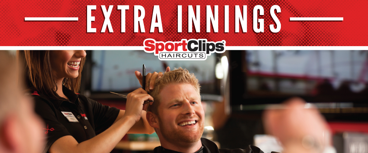 The Sport Clips Haircuts of Highlands Ranch Extra Innings Offerings